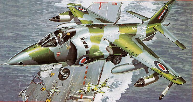 Revell-05690-Hawker-Harrier-GR-Mk.1 Revell-Neuheiten 2019 - das II. bis IV. Quartal
