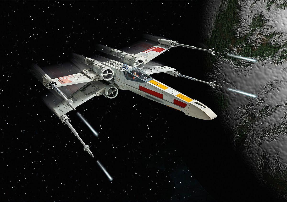 Revell-06890-X-Wing-Fighter Revell-Neuheiten 2019 - das II. bis IV. Quartal