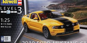 Ford Mustang GT 500 2010 im Maßstab 1:25 von Revell 07046