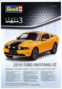 Revell-07046-2010-Ford-Mustang-GT-210x300 Revell 07046 2010 Ford Mustang GT