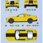 Revell-07046-2010-Ford-Mustang-GT-26-150x150 Ford Mustang GT 500 2010 im Maßstab 1:25 von Revell 07046