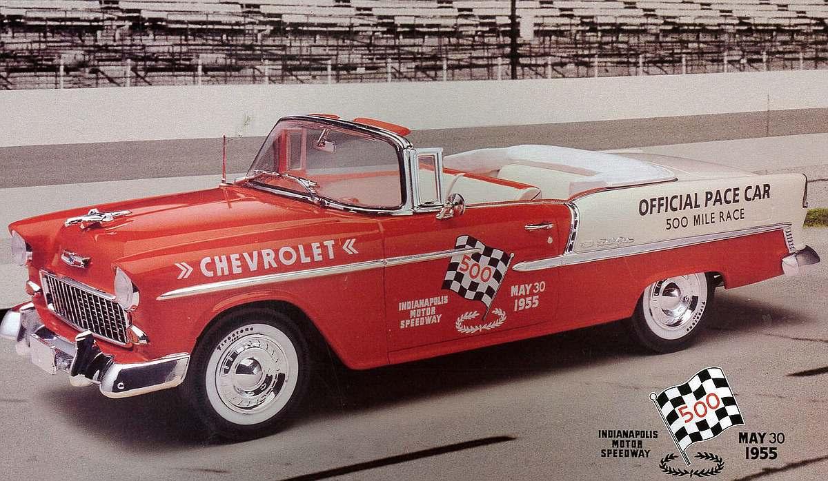 Revell-07686-55-Chevy-Indy-Pace-Car Revell-Neuheiten 2019 - das II. bis IV. Quartal