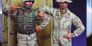 Modern U.S. AFV Crew – Mantis 1/35