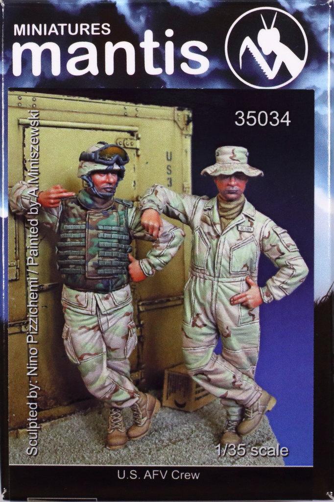 Review_Mantis_AFV_Crew_14 Modern U.S. AFV Crew - Mantis 1/35