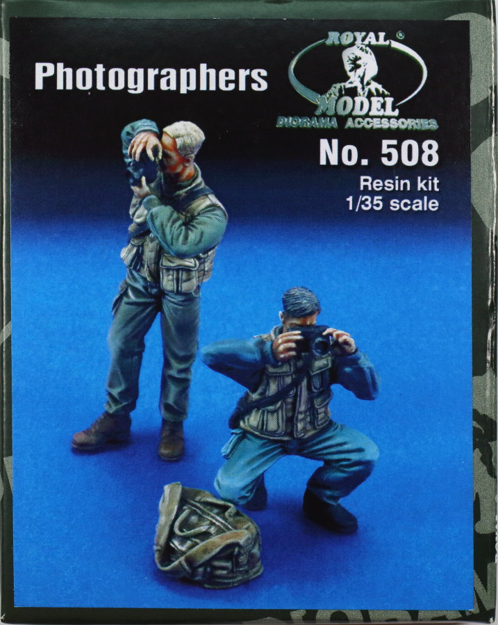Review_Royal_Photographers_01 Photographers (modern) - Royal Model 1/35