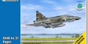"SAAB AJ 37 Viggen ""Attack Version"" Updated Edition von Special Hobby SH 48148"