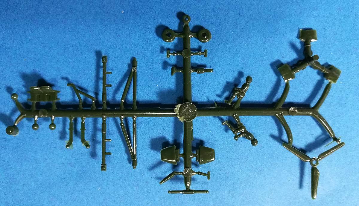 VEB-Plasticart-Mil-Mi-1-5 Kit-Archäologie: Mil Mi-1 und Mil Mi-4 im Maßstab 1:100 von VEB Plasticart
