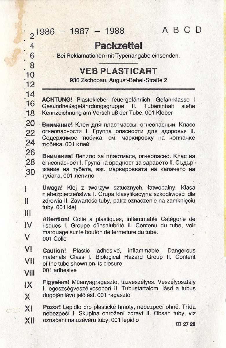 VEB-Plasticart-Mil-Mi-4-15 Kit-Archäologie: Mil Mi-1 und Mil Mi-4 im Maßstab 1:100 von VEB Plasticart