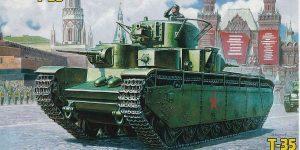 Soviet Heavy Tank T-35 im Maßstab 1:72 von Zvezda 5091