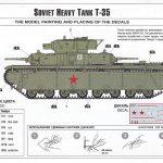 Zvezda-5061-T-35-Soviet-Heavy-Tank-1zu72-20-150x150 Soviet Heavy Tank T-35 im Maßstab 1:72 von Zvezda 5091