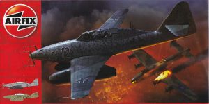 Messerschmitt Me 262 B-1a im Maßstab 1:72 von Airfix A04062
