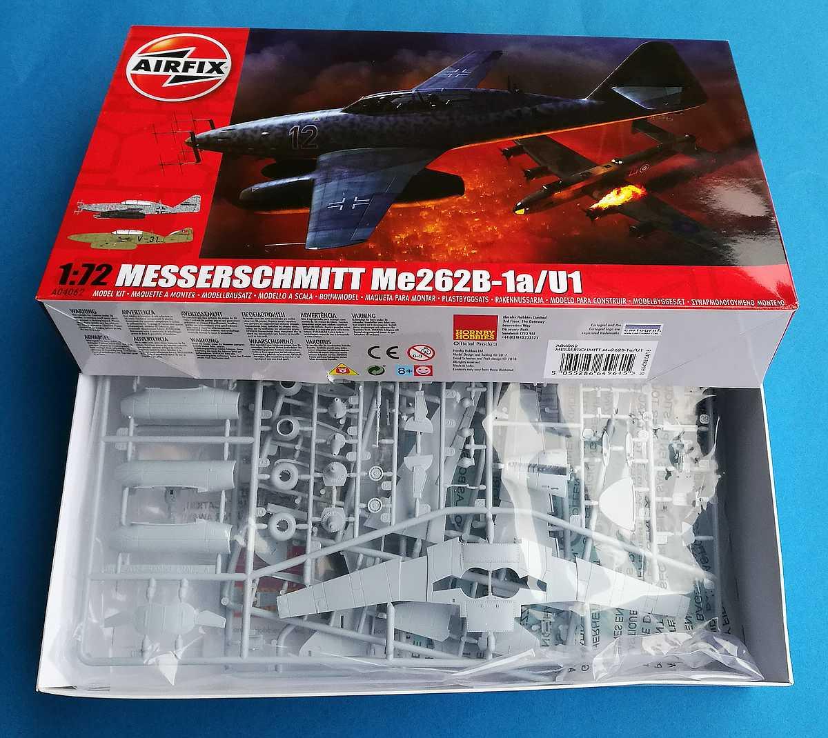 Airfix-A04062-Messerschmitt-Me-262-B-1a-10 Messerschmitt Me 262 B-1a im Maßstab 1:72 von Airfix A04062