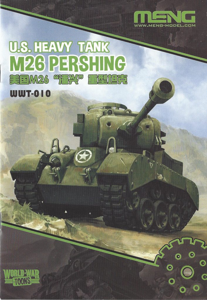 Anleitung01-706x1024 World War Toons U.S. Heavy Tank M26 Pershing Meng Model (#WWT-010)