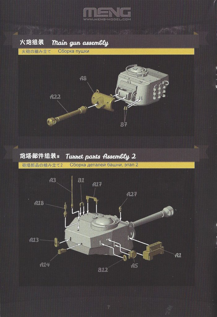 Anleitung08-701x1024 World War Toons U.S. Heavy Tank M26 Pershing Meng Model (#WWT-010)