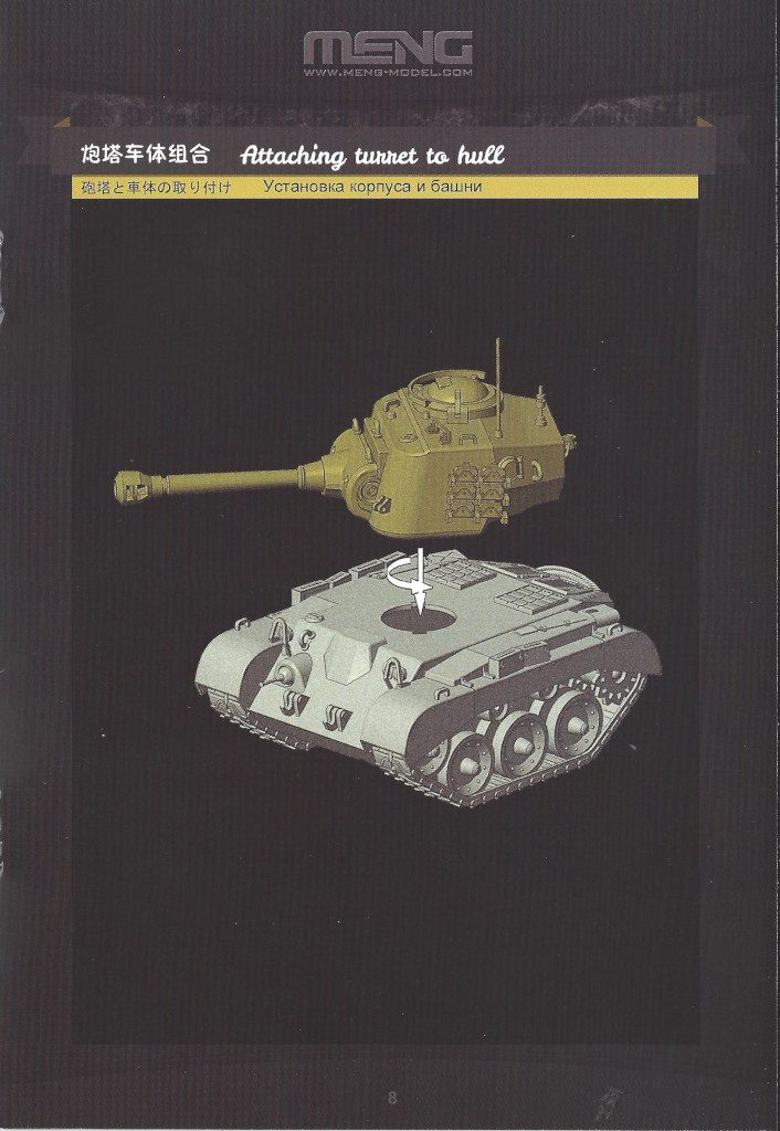 Anleitung09-706x1024 World War Toons U.S. Heavy Tank M26 Pershing Meng Model (#WWT-010)