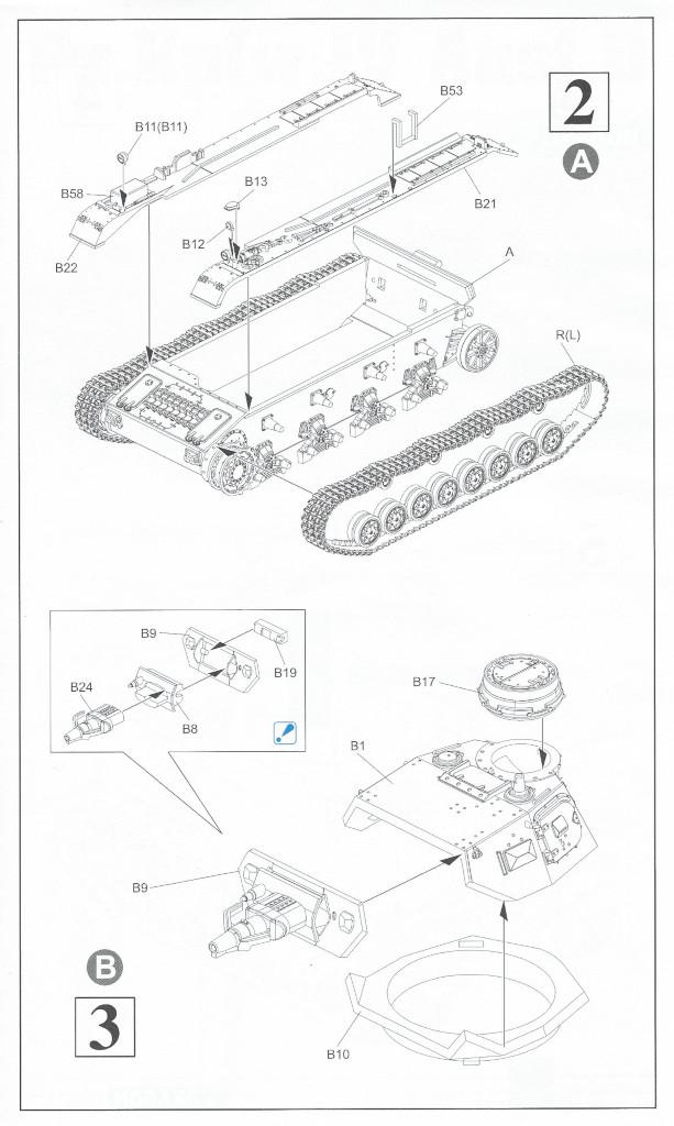 Anleitung3 Pz. Kpfw. IV Ausf. D 1:72 Dragon (#7530)
