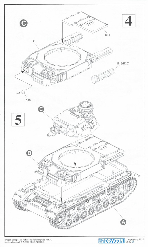Anleitung4 Pz. Kpfw. IV Ausf. D 1:72 Dragon (#7530)