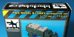 FWD Model B Lorry accessories von Black Dog T72103