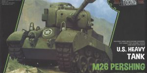 World War Toons U.S. Heavy Tank M26 Pershing Meng Model (#WWT-010)