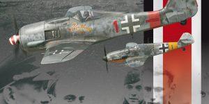 Reichsverteidigung Dual Combo Bf 109 G-6 / G-14 und FW 190 A-8/R2 in  1:48 von Eduard 11119