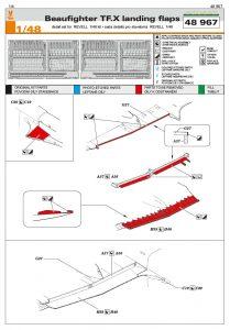 Eduard-48967-Beaufighter-TF.X-Landing-Flaps-2-209x300 Eduard 48967 Beaufighter TF.X Landing Flaps (2)