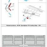 Eduard-49926-Beaufighter-TF-3-150x150 Detailsets für Revells 48er Beaufighter von Eduard