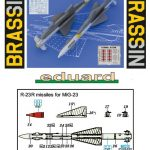 Eduard-648432-R-23R-Anleitung2-150x150 sowjetische Raketen R-23R und R-23T in 1:48 von Eduard 648432 und 648433