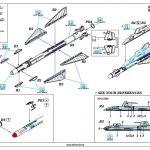 Eduard-648433-R-23T-Anleitung1-150x150 sowjetische Raketen R-23R und R-23T in 1:48 von Eduard 648432 und 648433