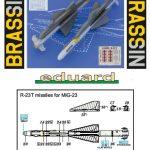 Eduard-648433-R-23T-Anleitung2-150x150 sowjetische Raketen R-23R und R-23T in 1:48 von Eduard 648432 und 648433