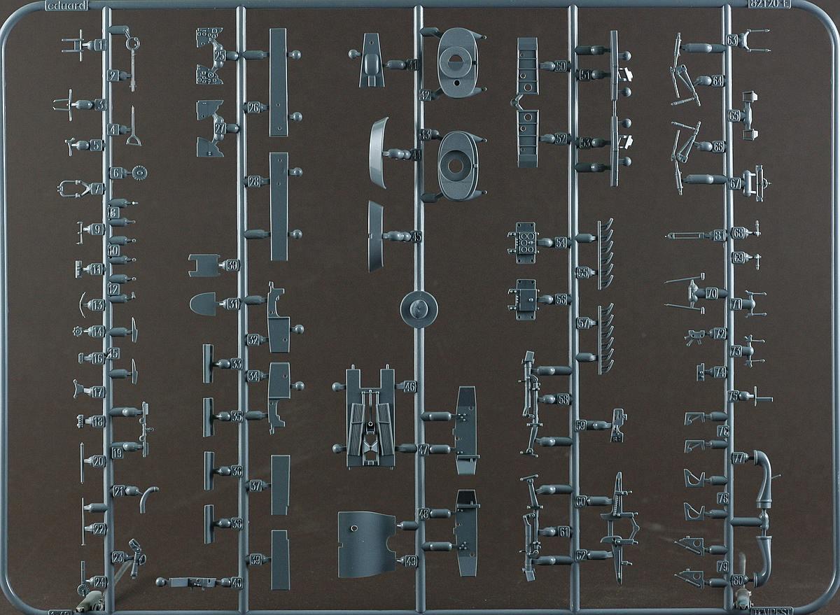 Eduard-82121-Tempest-Mk.-V-12 Hawker Tempest Mk. V Series 1 im Maßstab 1:48 von Eduard PROFIPACK 82121