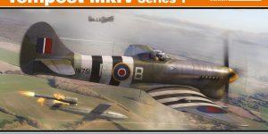 Hawker Tempest Mk. V Series 1 im Maßstab 1:48 von Eduard PROFIPACK 82121