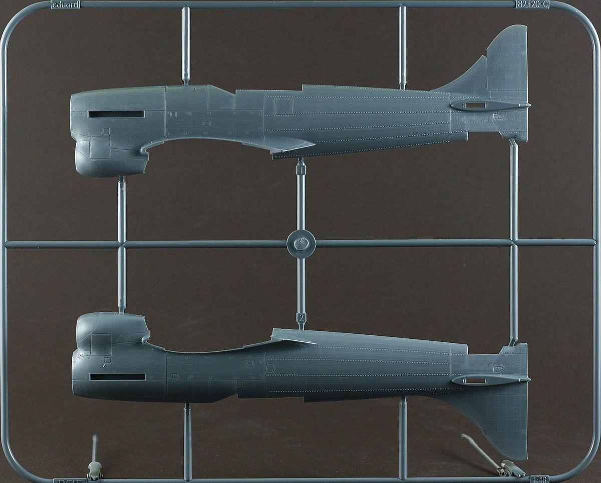 Eduard-82121-Tempest-Mk.-V-6 Hawker Tempest Mk. V Series 1 im Maßstab 1:48 von Eduard PROFIPACK 82121