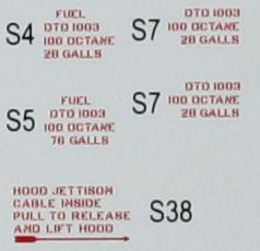 Eduard-82121-Tempest-Mk.-V-Decals-2 Hawker Tempest Mk. V Series 1 im Maßstab 1:48 von Eduard PROFIPACK 82121