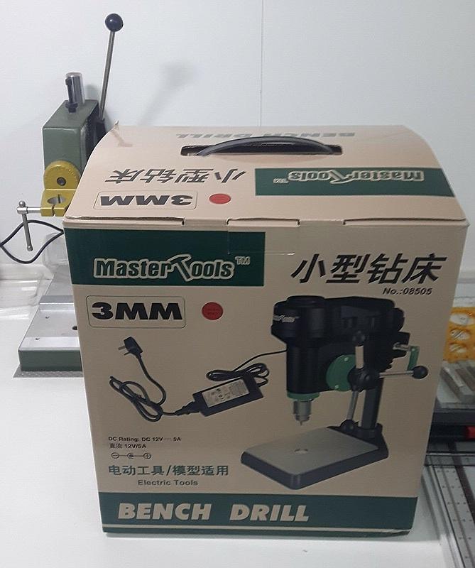MasterTools-8505-Tischbohrmaschine-1 Tischbohrmaschine von MasterTools (HobbyBoss / Trumpeter) 08505