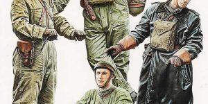 Polish Tank Crew (1939) im Maßstab 1:35 von MiniArt 35267