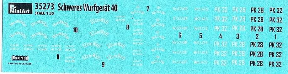 MiniArt-35273-schweres-Wurfgerät-40-14 Schweres Wurfgerät 40 im Maßstab 1:35 von MiniArt 35273