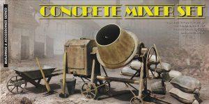 Concrete Mixer set im Maßstab 1.35 von MiniArt 35593