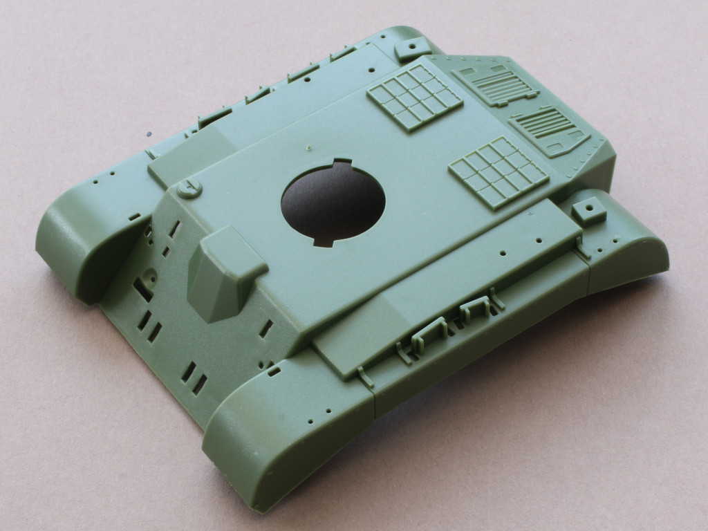 Oberwanne World War Toons U.S. Heavy Tank M26 Pershing Meng Model (#WWT-010)