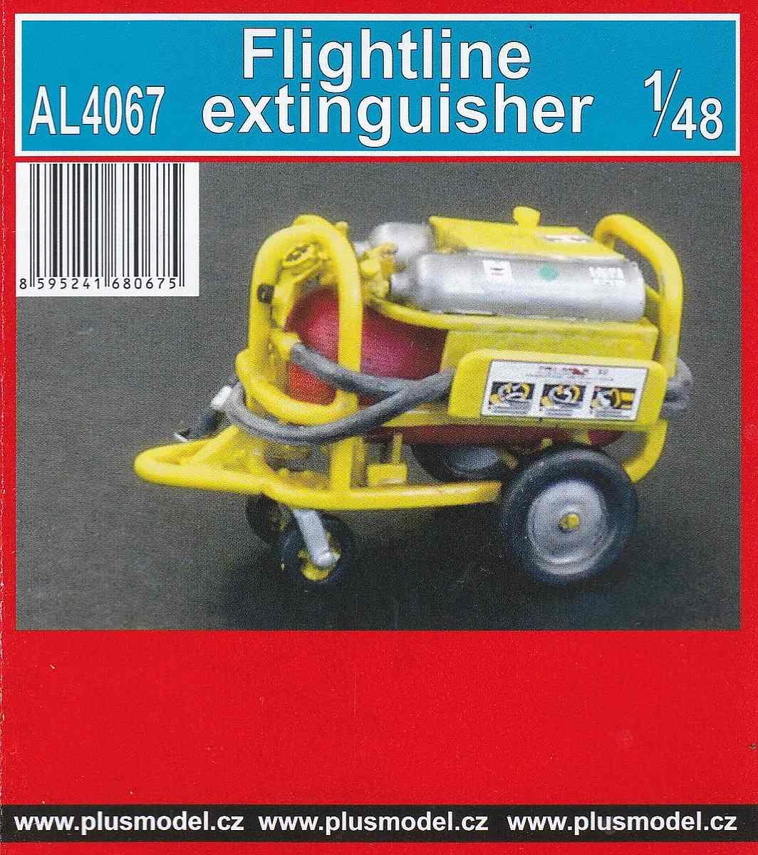PlusMOdel-AL-4067-Flightline-Extinguisher-1 Flightline Extinguisher im Maßstab 1:48 von PlusModel AL 4067