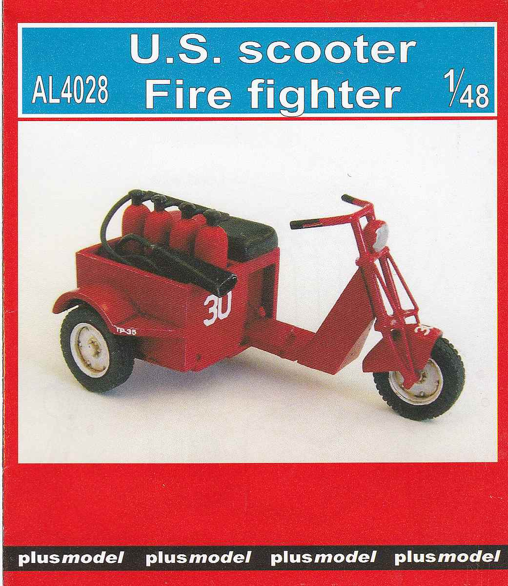 PlusModel-AL-4028-US-Scooter-Fire-Fighter-3 US Scooter Fire Fighter im Maßstab 1:48 von PlusModel AL-4028