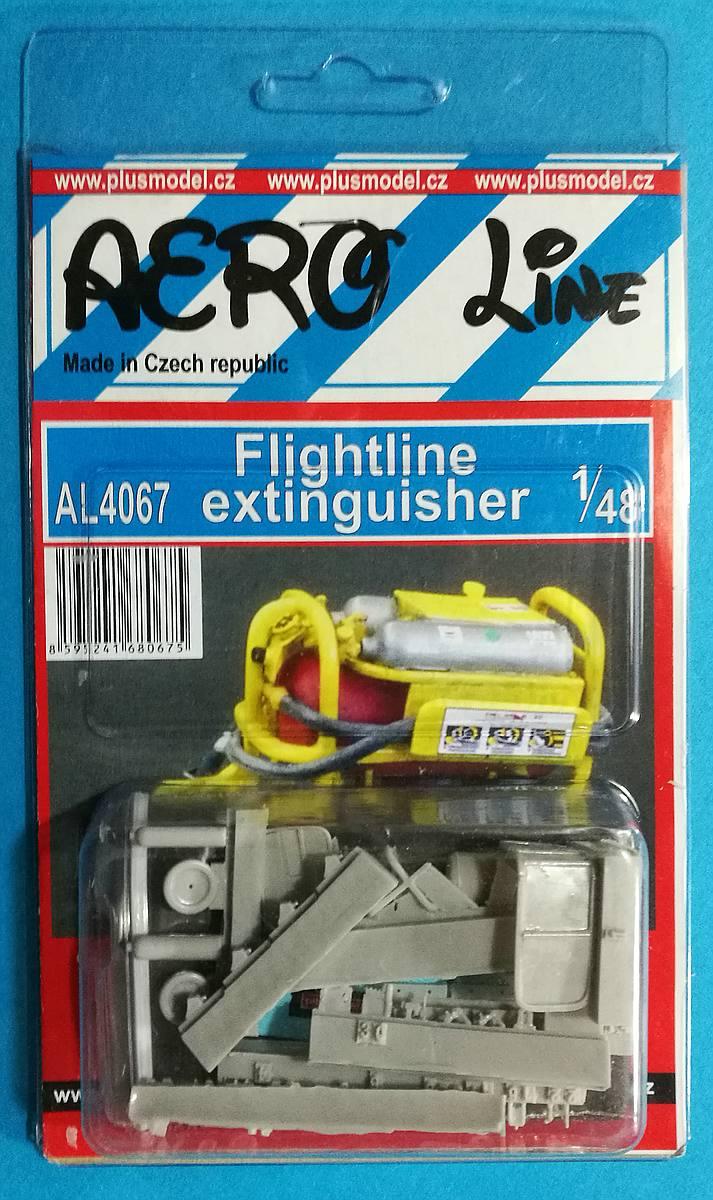 PlusModel-AL-4067-Flightline-Extinguisher Flightline Extinguisher im Maßstab 1:48 von PlusModel AL 4067