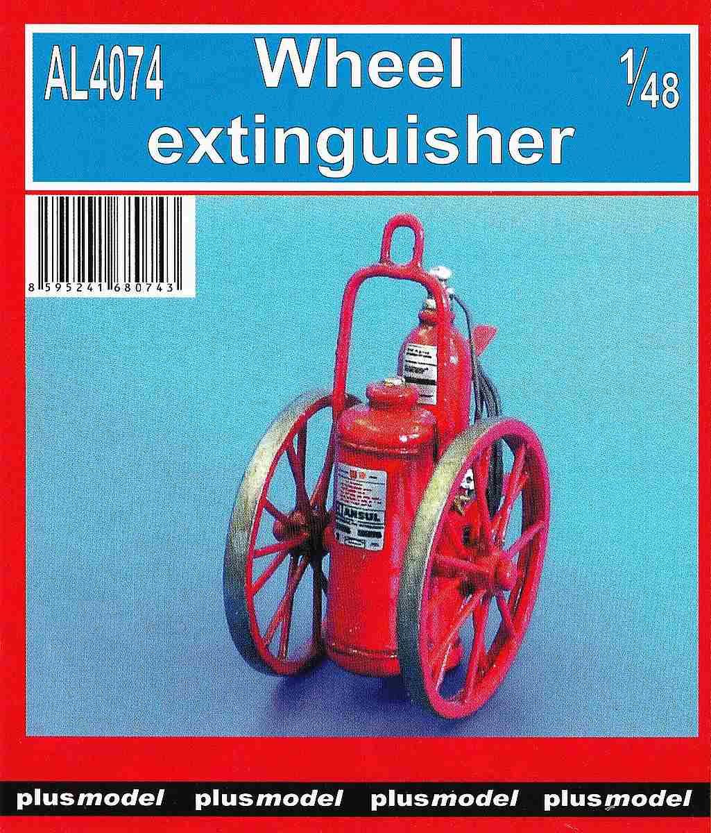 PlusModel-AL-4074-Wheel-Extinguisher-1 Wheel extinguisher im Maßstab 1:48 von PlusModel AL-4074