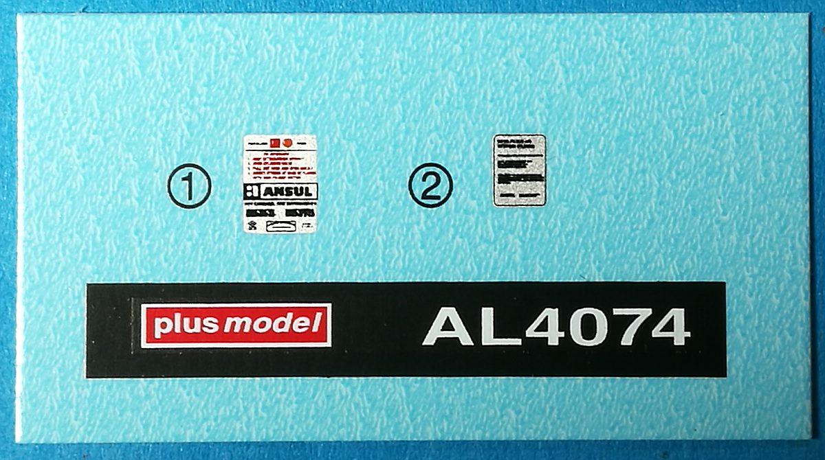 PlusModel-AL-4074-Wheel-Extinguisher-11 Wheel extinguisher im Maßstab 1:48 von PlusModel AL-4074