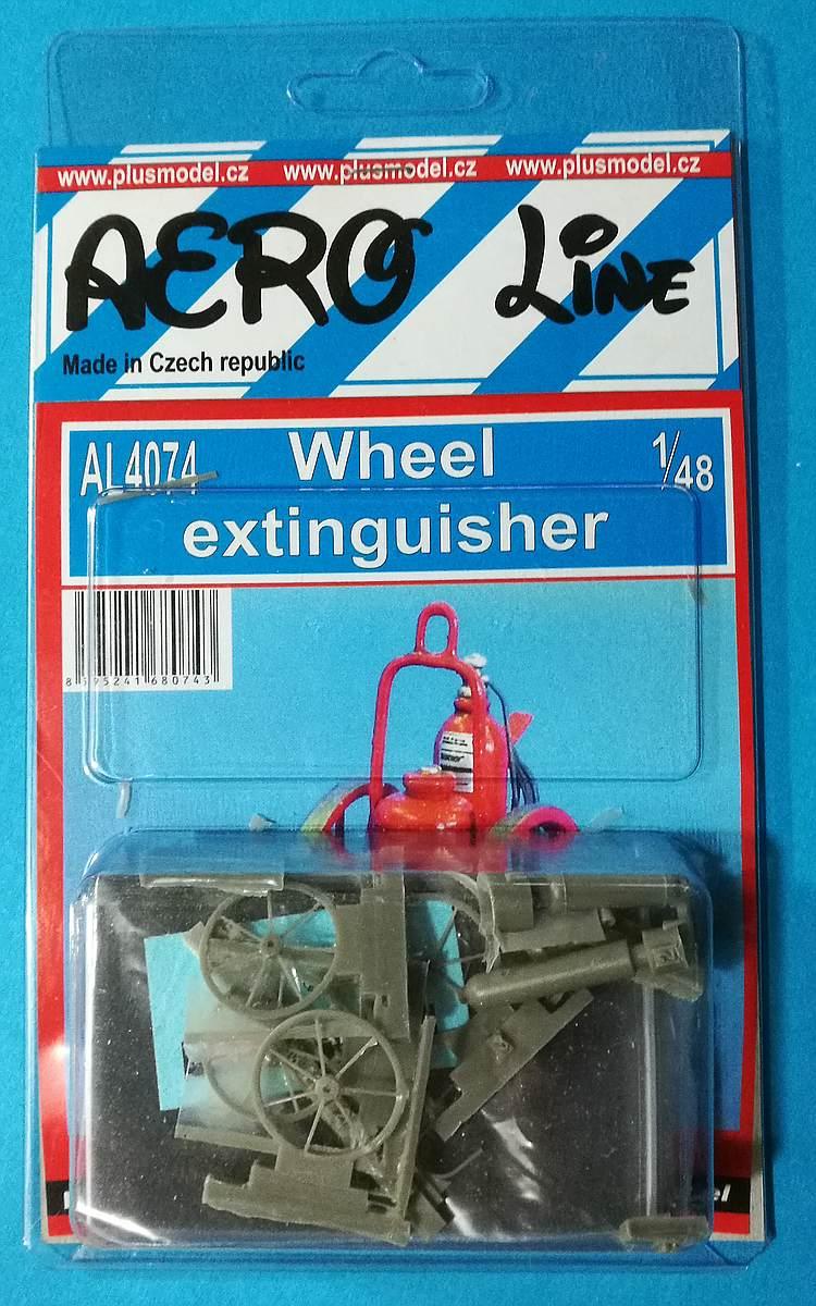 PlusModel-AL-4074-Wheel-Extinguisher-3 Wheel extinguisher im Maßstab 1:48 von PlusModel AL-4074