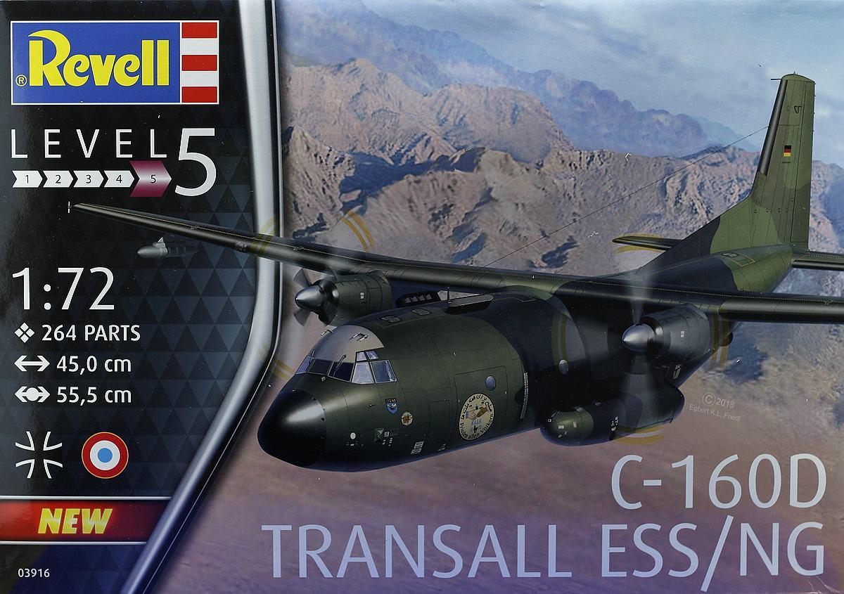 Revell-03916-Transall-ESS-NG-7 Transall C-160 ELOKA ESS / NG im Maßstab 1:72 von Revell 03916