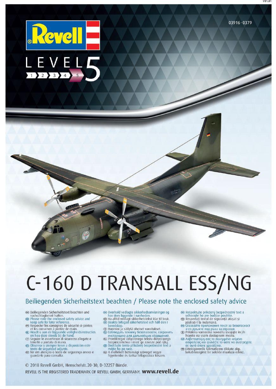 Revell-03916-Transall-ESS-NG-Bauplan1 Transall C-160 ELOKA ESS / NG im Maßstab 1:72 von Revell 03916