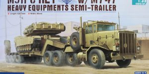 M911 C-HET with M747 Heavy Equipment Semi Trailer – Hobby Boss 1/35
