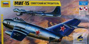 MiG-15 in 1:72 von ZVEZDA 7317