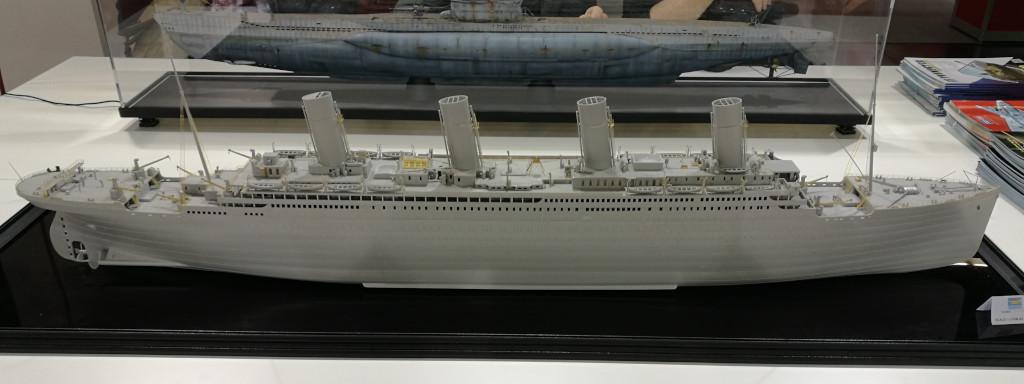 01 Trumpeter stellt Titanic in 1:200 vor !
