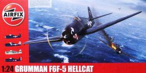 Airfix bringt Grumman F6F-5 Hellcat 1:24 !